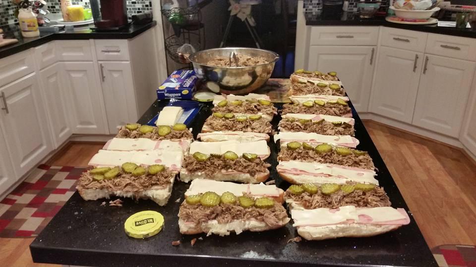 Sanwiches Cubanos
